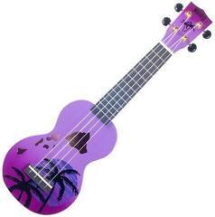 Mahalo Soprano Ukulele Hawaii Purple Burst