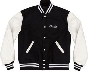 Fender Custom Shop Varsity Jacket Black/White