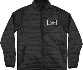 Fender Puffer Jacket Black