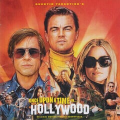Quentin Tarantino Once Upon a Time In Hollywood OST (CD)