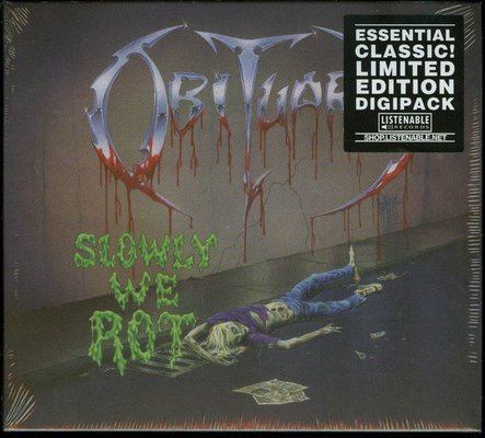 Obituary Slowly We Rot (Digipak CD)
