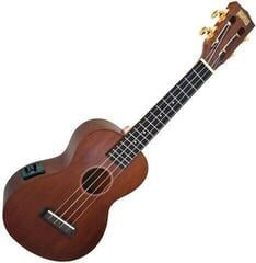 Mahalo Electric-Acoustic Concert Ukulele Trans Brown