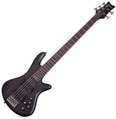 Schecter Stiletto Studio-5 See-Thru Black Satin