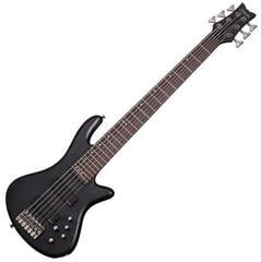 Schecter Stiletto Studio-6 See-Thru Black Satin