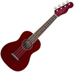 Fender Zuma Classic WN Ukulele koncertowe Candy Apple Red