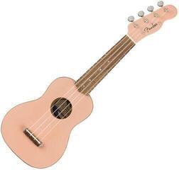 Fender Venice WN SP Sopránové ukulele Shell Pink