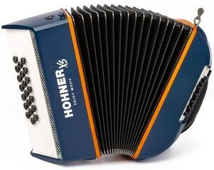 Hohner XS Children Accordion Blue/Orange