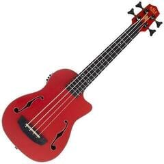 Kala U-Bass Journeyman Fretted Matte Red (B-Stock) #929661