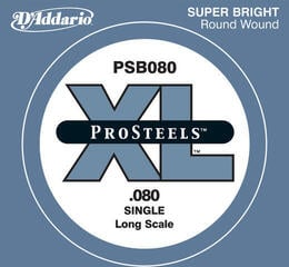 D'Addario PSB080 Single Bass String