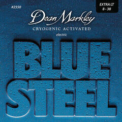 Dean Markley 2550 XL 8-38 Blue Steel Electric