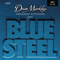 Dean Markley 2555 JZ 12-54 Blue Steel Electric