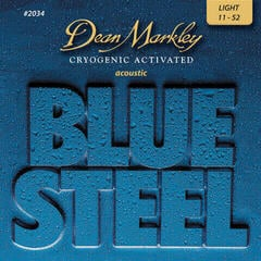 Dean Markley 2034 LT 11-52 Blue Steel Acoustic