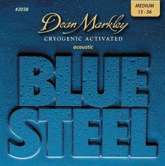 Dean Markley 2038 MED 13-56 Blue Steel Acoustic
