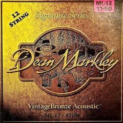 Dean Markley 2204 ML 11-50 VintageBronze 12 String Acoustic