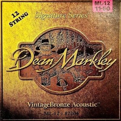 Dean Markley 2204 ML 11-50 VintageBronze 12 String Acoustic