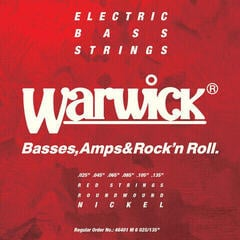 Warwick RED Strings Bass Set 6-String Medium .025-.135