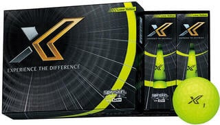 XXIO X Golf Balls Lime Yellow