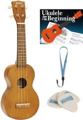 Mahalo MK1 SET Ukulele soprano Transparent Brown