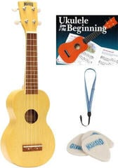 Mahalo MK1 SET Ukulele soprano Transparent Blond