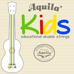 Aquila 138U Kids Educational Ukulele String Set High-G Tuning