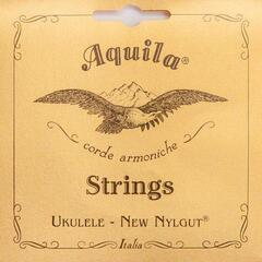 Aquila 5U New Nylgut Soprano Ukulele String Set Low-G Tuning