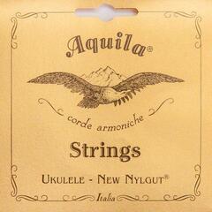 Aquila 5U New Nylgut Soprano Ukulele String Set Low-G Tuning