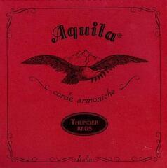 Aquila 91U Thunder Reds Bass Ukulele String Set 4-String