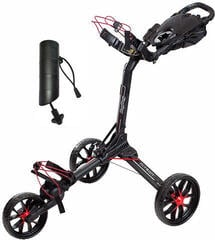 BagBoy Nitron Black/Red Golf Trolley SET