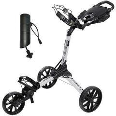 BagBoy Nitron White/Black Golf Trolley SET