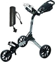 BagBoy Nitron Silver/Black Golf Trolley SET