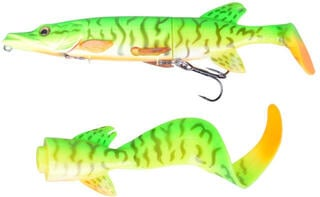 Savage Gear 3D Hybrid Pike 17cm 45g Firetiger