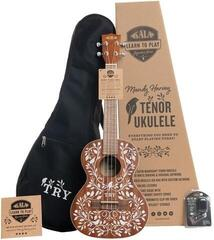 Kala Mandy Harvey Learn To Play Signature Series Tenor Ukulele Starter Kit
