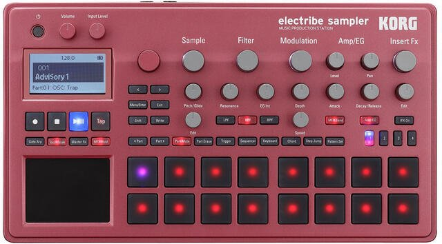 Korg Electribe Red