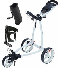 Big Max Blade IP Golf Trolley White/Deluxe Set