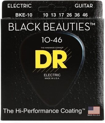 DR Strings BKE-10 K3 Black Beautie Medium