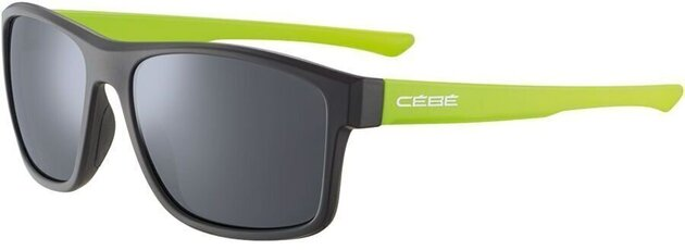 Cébé Baxter Matt Black Lime Zone Grey Silver
