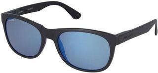 Serengeti Anteo Matte Black/Mineral Polarized Blue