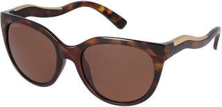 Serengeti Lia Shiny Red Moss Tortoise/Matte Champagne Gold/Mineral Polarized Drivers