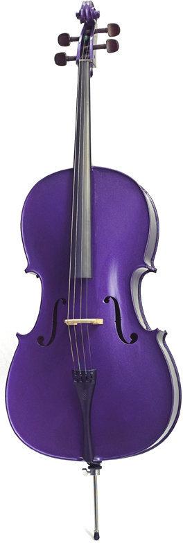 Stentor Cello 1/2 HARLEQUIN Deep Purple Stentor
