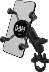 Ram Mounts X-Grip Phone Mount Handlebar U-Bolt Base Suport moto telefon, GPS