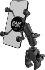 Ram Mounts X-Grip Phone Mount with RAM Tough-Claw Small Clamp Base