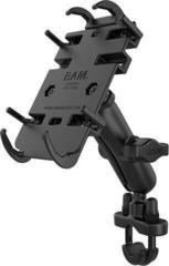 Ram Mounts Quick-Grip Phone Mount with Handlebar U-Bolt Base