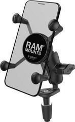 Ram Mounts X-Grip Phone Holder with Motorcycle Fork Stem Base