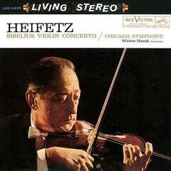 Walter Hendl Sibelius: Violin Concerto in D Minor/ Jascha Heifetz, violin (LP) Audiophile Quality