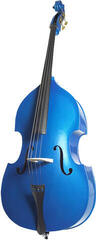 Stentor Double Bass 4/4 ''Rock a Billy'' Metallic Blue