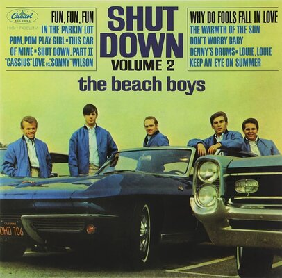 The Beach Boys Shut Down Volume 2 (Mono) (Vinyl LP)