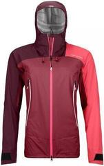 Ortovox Westalpen 3L Womens Light Jacket Dark Blood