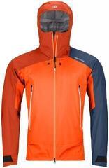 Ortovox Westalpen 3L Mens Light Jacket Burning Orange