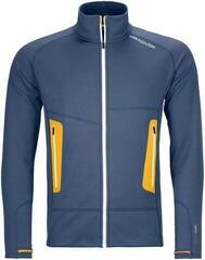 Ortovox Fleece Light Mens Jacket Night Blue