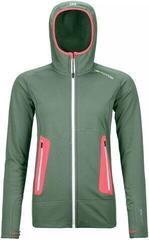 Ortovox Fleece Light Womens Hoody Green Forest